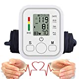 Arm Blood Pressure Monitor, Automatic Digital Blood Pressure Monitor Pressure Gauge Meter Tonometer for Measuring Arterial Pressure