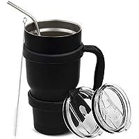 HITSLAM 30oz Double Wall Stainless Steel Vacuum Insulation Travel Mug
