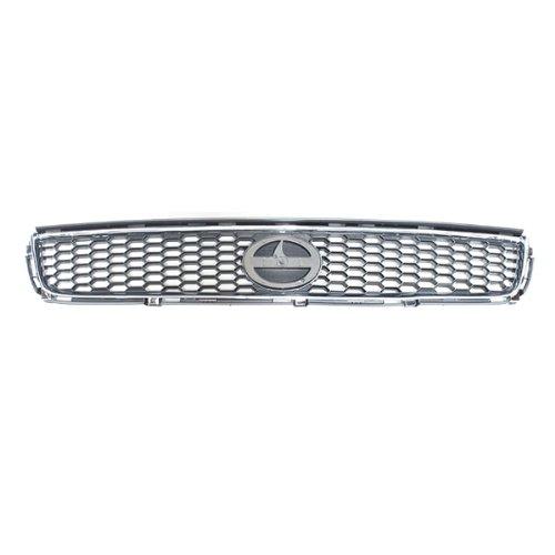 CarPartsDepot, Base Spec Grille Grill New Front Body Parts Plastic Black, 400-41579 5310121070 SC1200104