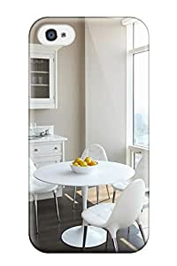 Ultra Slim Fit Hard ZippyDoritEduard Case Cover Specially Made For Iphone 4/4s- Contemporary Kitchen Table