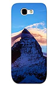 New Arrival Case Cover Jfsxfg-5891-qvqfgvn With Design For Galaxy Note 2- Alps Switzerland Italy Maerhorn Mountain Night Sunset Sky Clouds Mountains Snow Best Gift Choice For Lovers