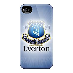 Protector Cell-phone Hard Covers For Iphone 6 (AXk11280BPwH) Allow Personal Design Stylish Football Club Everton Skin