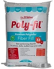 Poly-Fil PF-32 Premium Fiber Fill 32 Ounce Bag,