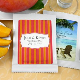 Relax in the Sand Personalized Margarita Mix Favors Set of 24