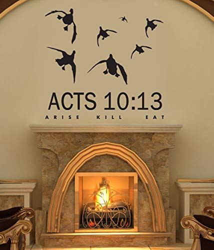 Acts 10:13 Duck hunting wall decal -