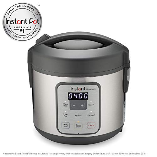 Instant Zest Rice and Grain Cooker - 8 cup rice cooker from the makers of Instant Pot