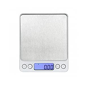 500g/1.1lb Digital Jewelry & Kitchen Scale Multifunction Food Scale by 0.01g/0.001oz, Stainless Steel By DGQ