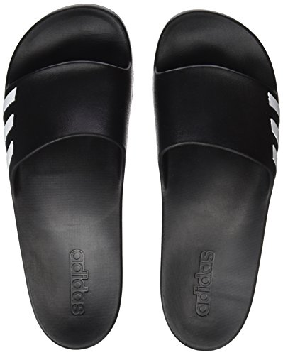 adidas WoMen Aqualette W Beach and Pool Shoes Black (Core Black/Footwear White/Ftwwht)