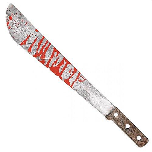 Bloody Machete Slasher Serial Killer Scary Horror Halloween Costume Prop