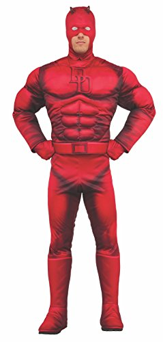 Rubie's Men's Marvel Daredevil Deluxe, As Shown, X-Large