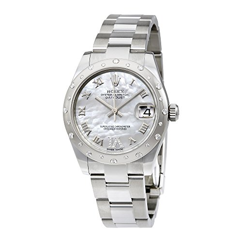 Rolex Oyster Perpetual Datejust 31 Mother of pearl Dial Stainless Steel Rolex Oyster Automatic Ladies Watch 178344MRDO