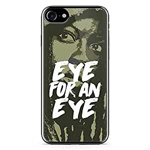 iPhone 7 Transparent Edge Case The Walking Dead Michonne Eye For An Eye