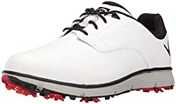 Callaway Men's La Jolla Golf Shoe, White, 10.5 2e Us