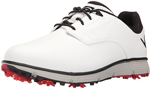 Callaway Men's La Jolla Golf Shoe, Black, 10 2E US