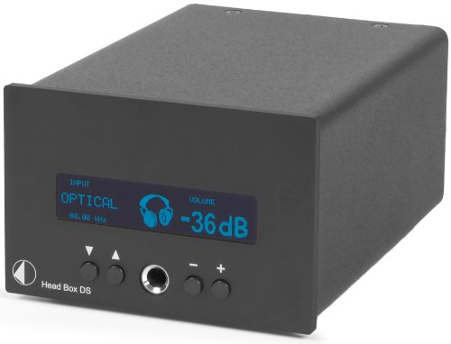 Blk Amp (Pro-Ject Audio - Head Box DS - D/A Converter and Headphone Amp - Blk)