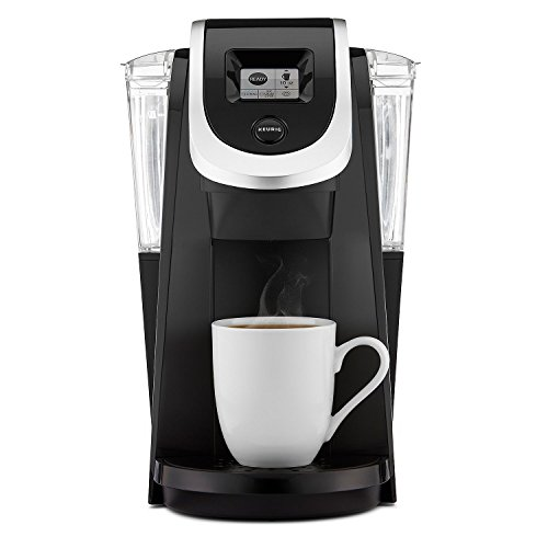 Keurig K200 Single-Serve Programmable K-Cup Pod Coffee Maker, Black (Certified Refurbished)