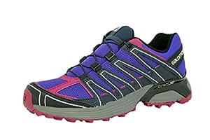 Salomon XT TAURUS W Zapatillas Purpura Rosa Trail Running para Mujer