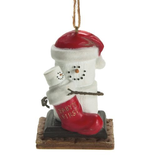 S'mores Baby's First Christmas Ornament from Midwest-CBK