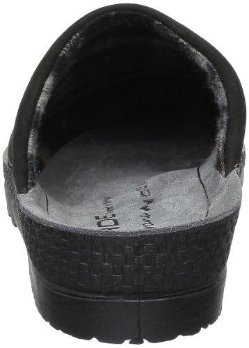 Noir 90 Negro Cuero Nobuck Rohde 2760 Zuecos Noir De Hombre 6RZT0q