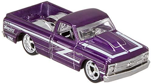 2017 Hot Wheels Hot Trucks 67 Chevy C10 Purple ( hoosier racing tires) Hw hot trucks 158/365 rare