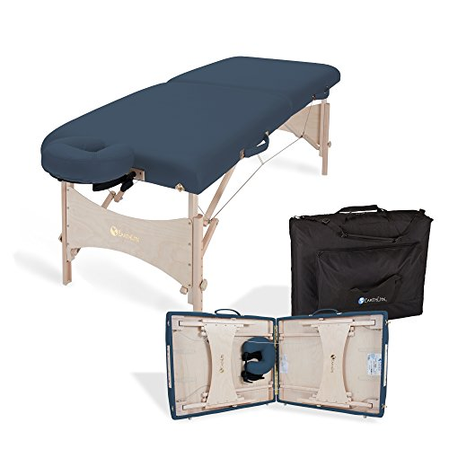 EARTHLITE Portable Massage Table Package HARMONY DX – Eco-Friendly Design, Deluxe Adjustable...