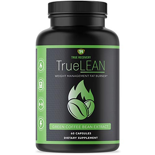 TrueLEAN Green Coffee Bean Extract Weight Management Detox – Lean Body, Energy & Metabolism Booster – 60 Weight Loss…
