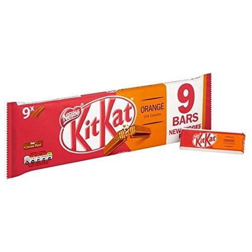 Kit Kat 2 Finger Orange 9 Pack