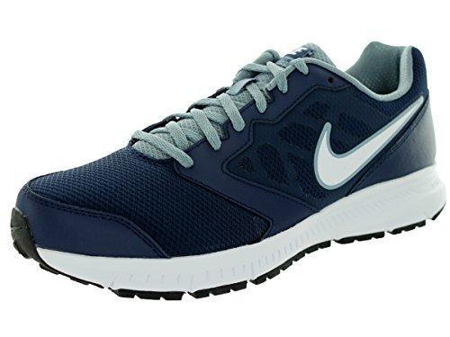 Nike Downshifter 6, Herren Laufschuhe Midnight Navy / Wit / Magneet Grijs)
