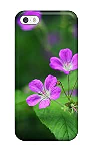 John Ramsey Perfect Tpu Case For Iphone 5/5s/ Anti-scratch Protector Case (beautiful Flower)