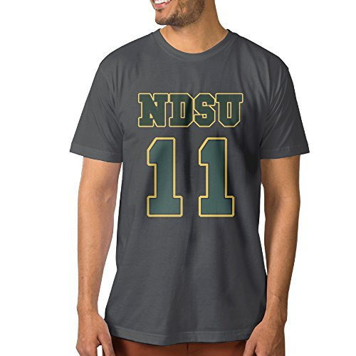 Deted Cool T Shirt Tee   Ndsu Carson Number 11 Logo For Mens Sizem Deepheather