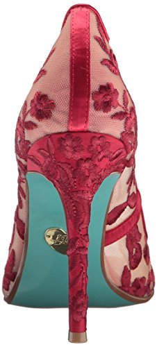 Blu By Betsey Johnson Womens Sb-adley Vestito Rosso Pompa Tessuto