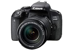 Canon EOS 800d + EF-S 18 - 135 F/3.5 - 5.6 IS STM cámara réflex ...