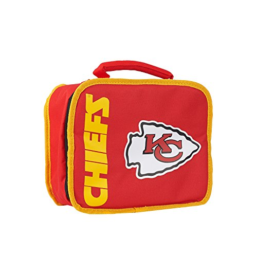 The Northwest Company Officially Licensed NFL Kansas City Chiefs Sacked Lunch (Kansas City Chiefs Lunch Box)