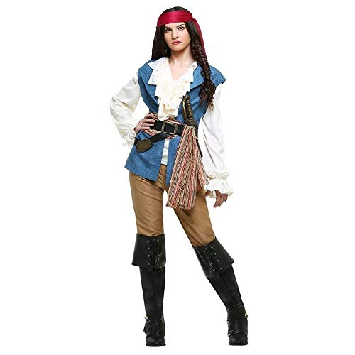 Fashion-Cos1 Halloween Costumes Female Women Pirate Costume Game Uniform Cosplay Stage Party Costume Role Play]()