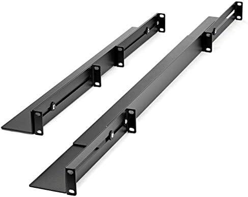 19inch Rack Mount Rails UNIRAILS1U StarTech.com 1U Universal Server Rack Rails TAA Compliant Adjustable Depth Server Mounting Rails ,Black