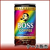 Suntory BOSS (boss) Rainbow Mountain Blend 185g cans X30 pieces