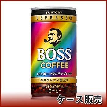 Suntory BOSS (boss) Rainbow Mountain Blend 185g cans X30 pieces by Suntory