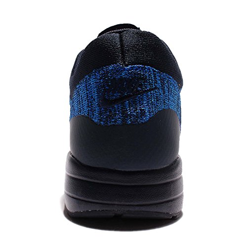Nike Mænds Air Max 1 Ultra Flyknit Løbesko Mørk Obsidian / Hvid-racer Blå-foto Blå 2MPRUVdu