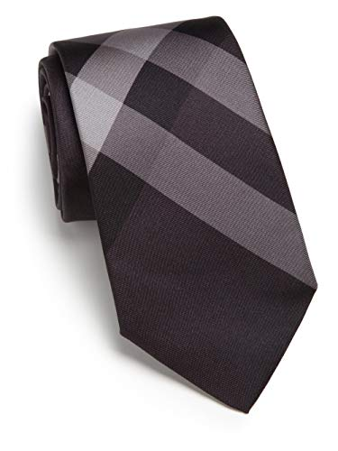 - New Burberry London Rohan Smoked Check Italian Skinny Silk Tie