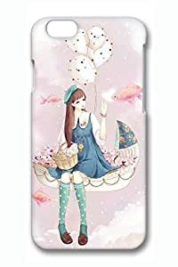 Anime Girl 2 Cute Hard Cover For iphone 5s Case PC 3D Cases