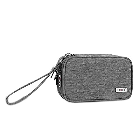 BUBM General Carrying Case for Nintendo New 3DS Games 3DS XL, 3DS LL Console And 3DS Accessories Adapter USB Charger Cable (3ds ll hangbag (3ds Xl Charging Case)