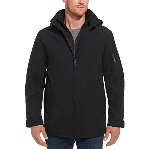 Weatherproof Men's Ultra Tech Stretch Jacket (L, Black)