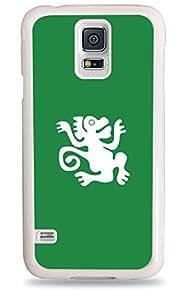 Green Monkeys Galaxy S5 White Silicone Case