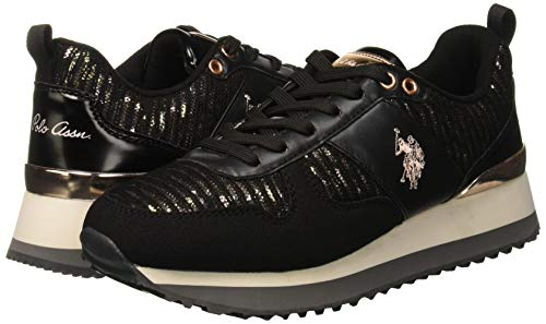 Nero s Tabitha1 Baskets U Assn Blk Lurex Femme black polo H0dqtCw
