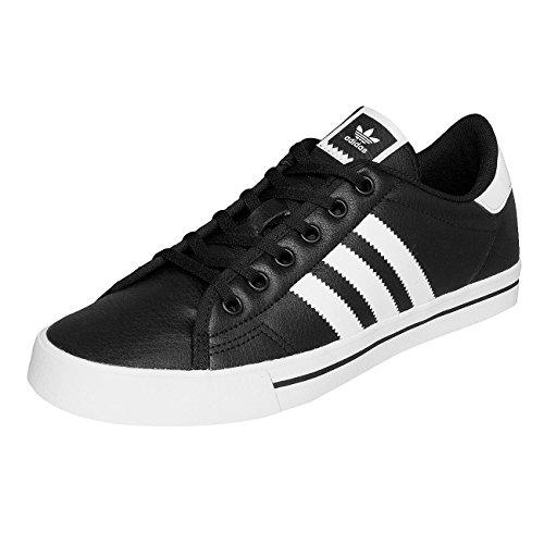 Adidas Sapatos Masculinos / Adicourt Sneaker Preto 41 1/3