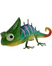 Verde Jem Chameleon–Metal jardín decoración adorno, multicolor