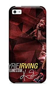 Iphone 5c Case, Premium Protective Case With Awesome Look - Kyrie Irving Cleveland Cavaliers Nba Basketball