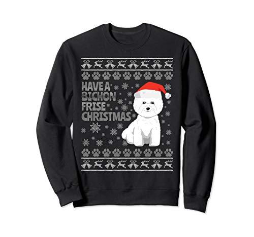 Bichon Frise Ugly Christmas - Sweatshirt Bichon