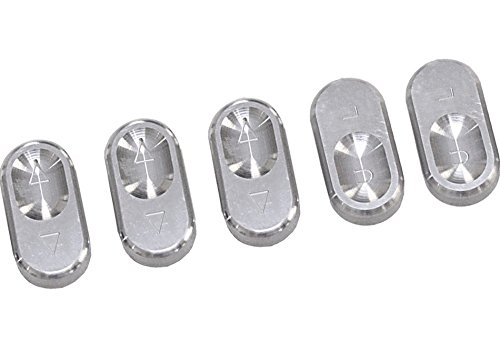 Mustang Steeda Billet (Steeda Billet Window Switches for 1987-93 Ford Mustang Non-Convertible)