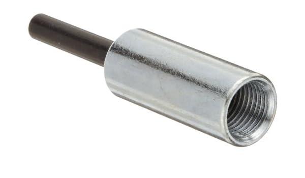 Merit EM-144 Extension Mandrel for Bore Polishers 1//4 Shank Diameter x 4 Overall Length 1//4-20 Thread Size